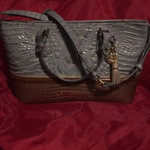 Authentic Brahmin Purse with Duster, barely used